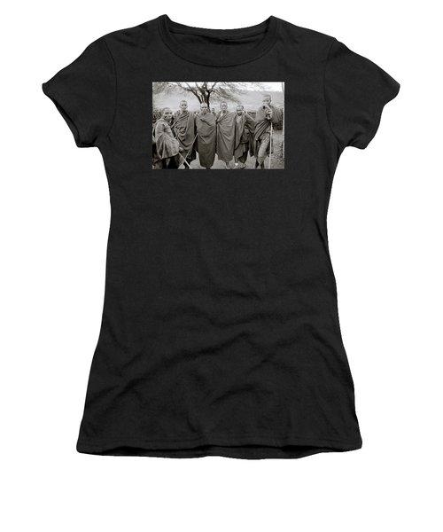 The Masai Women's T-Shirt (Junior Cut) by Shaun Higson
