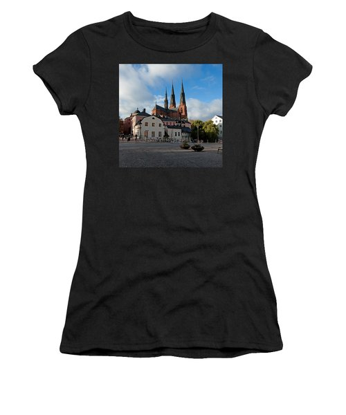 The Medieval Uppsala Women's T-Shirt (Junior Cut) by Torbjorn Swenelius