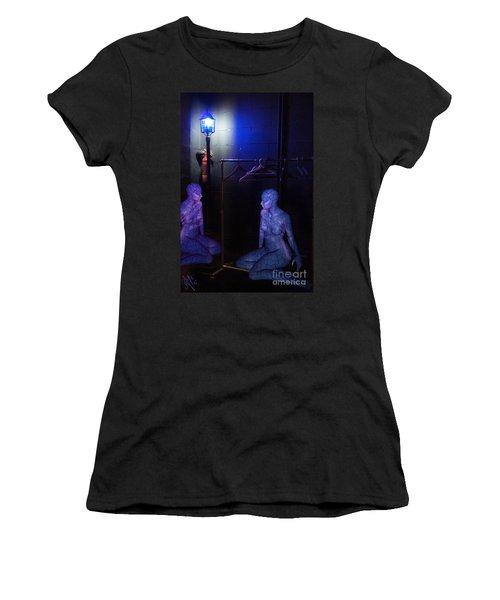 The Mermaids Dresser Women's T-Shirt (Junior Cut) by Rosa Cobos