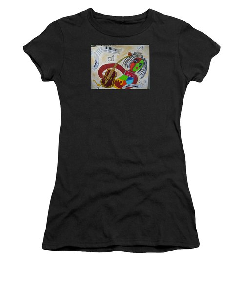 The Music Practitioner Women's T-Shirt (Athletic Fit)