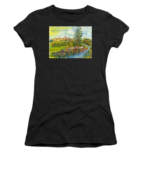 The Ninth Hole Women's T-Shirt (Athletic Fit)
