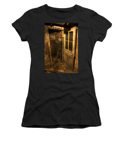 The Old Cellar Door Women's T-Shirt (Junior Cut) by Dan Stone