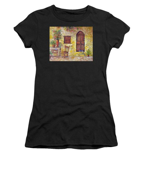 The Old Chair Women's T-Shirt (Athletic Fit)