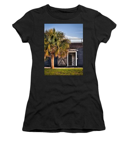 The Old Fort-color Women's T-Shirt (Athletic Fit)