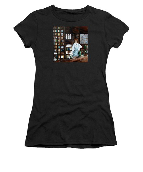 The Old Pharmacy ... Medicine In The Making Women's T-Shirt (Athletic Fit)