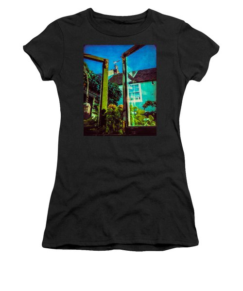 Women's T-Shirt (Junior Cut) featuring the photograph The Open Window by Chris Lord