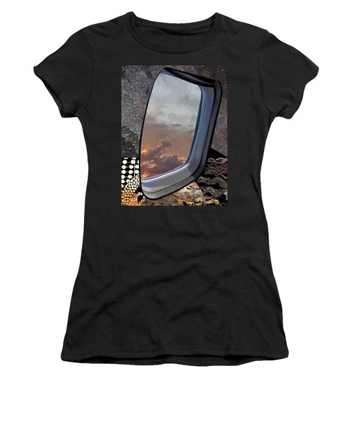 Women's T-Shirt (Junior Cut) featuring the digital art The Other Side Of Natural by Glenn McCarthy Art and Photography