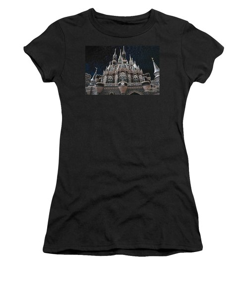 Women's T-Shirt (Junior Cut) featuring the photograph The Palace by Robert Meanor