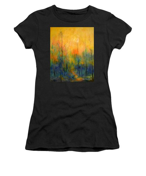 The Path To Forever Women's T-Shirt (Athletic Fit)