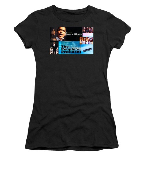 The People's President Still Women's T-Shirt (Junior Cut) by Terry Wallace