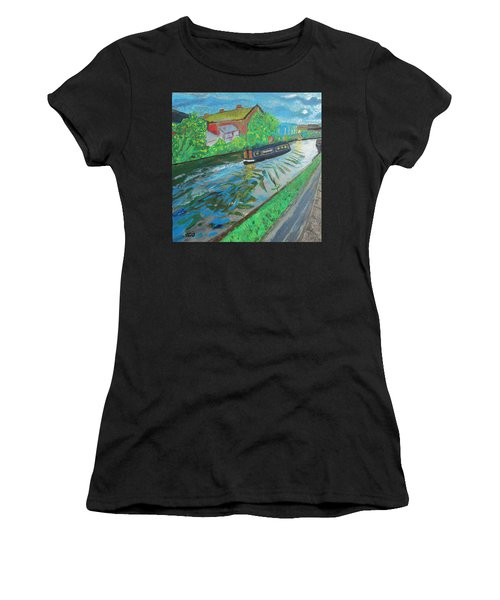 The Pickle - Grand Union Canal Women's T-Shirt (Athletic Fit)