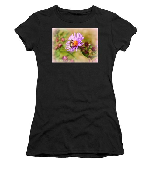 The Pollinator Women's T-Shirt (Athletic Fit)