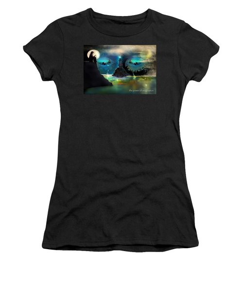 The Power Of Imagination Women's T-Shirt (Athletic Fit)