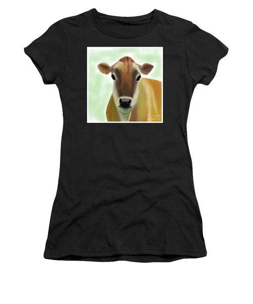 The Pretty Jersey Cow  Women's T-Shirt