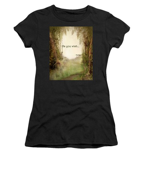 The Princess Bride - As You Wish Women's T-Shirt (Athletic Fit)