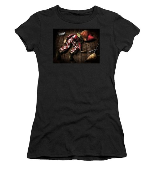 The Puppet... Women's T-Shirt (Athletic Fit)