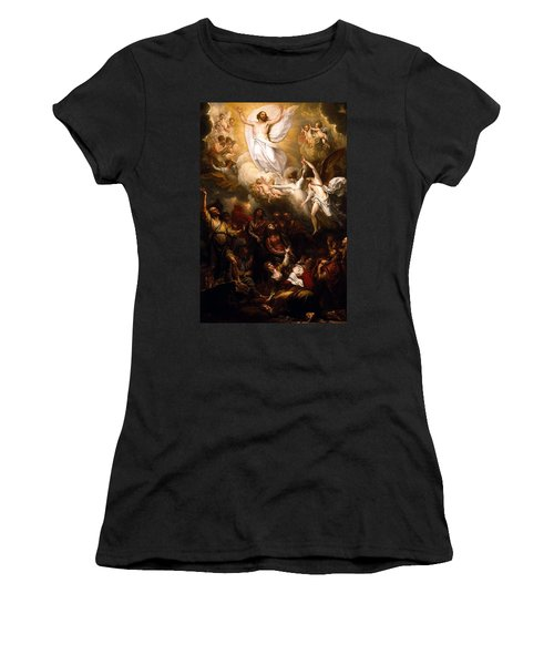 The Resurrection Women's T-Shirt (Junior Cut) by Munir Alawi