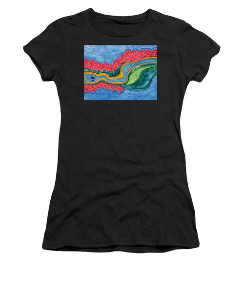 The Riffles Original Painting Women's T-Shirt