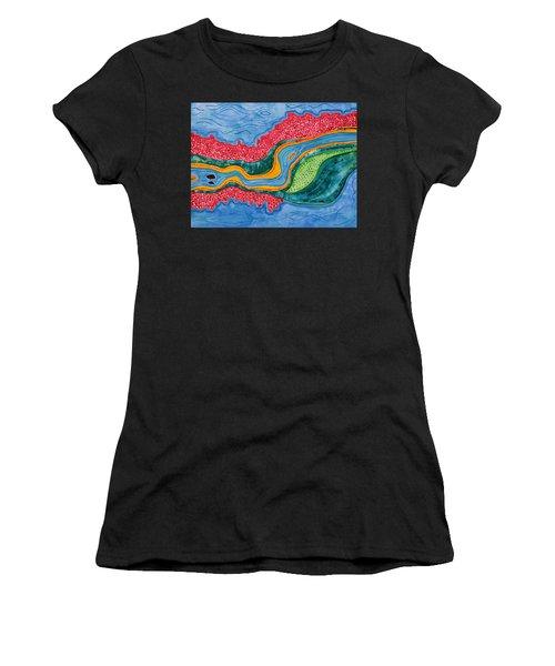 The Riffles Original Painting Women's T-Shirt