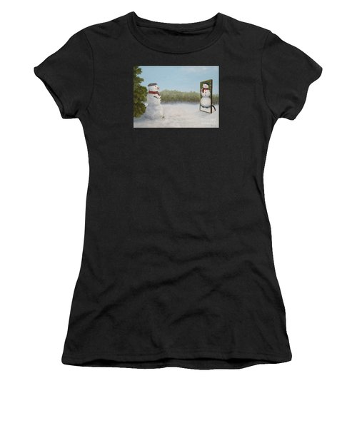 The Right Mirror Women's T-Shirt (Athletic Fit)