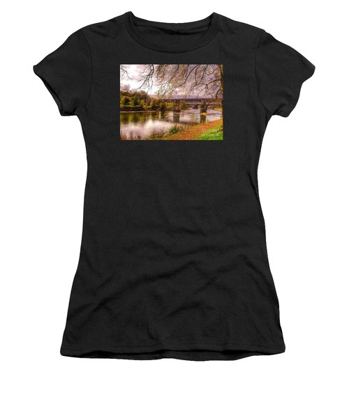 The Riverside At Avenham Park Women's T-Shirt (Athletic Fit)