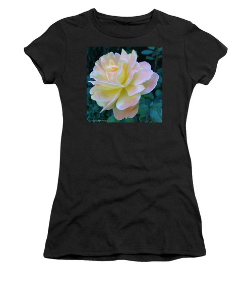 The Rose For A Rose Is A Rose Is A Rose Women's T-Shirt (Athletic Fit)