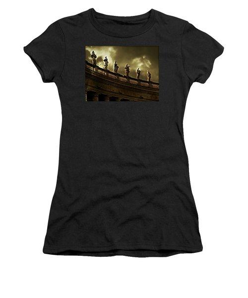 The Saints  Women's T-Shirt (Athletic Fit)