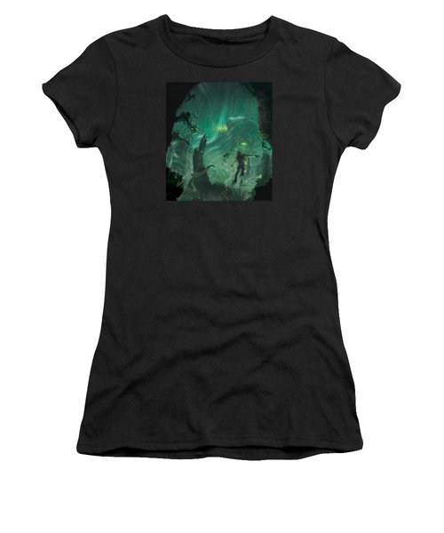 The Sleeper Below Women's T-Shirt (Athletic Fit)