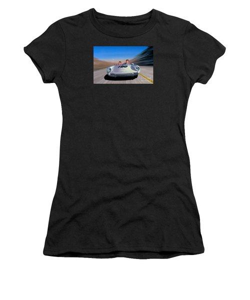 The Spirit Lives Women's T-Shirt (Athletic Fit)