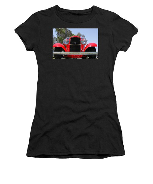 Women's T-Shirt (Junior Cut) featuring the photograph The Stare Of A V8 by Shoal Hollingsworth