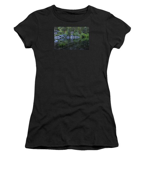 Women's T-Shirt (Junior Cut) featuring the photograph The Stillness Of Dawn  by Sean Sarsfield