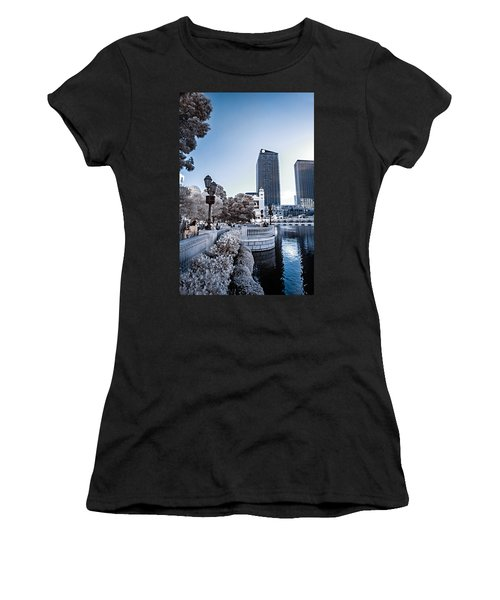 The Strip In Infrared Women's T-Shirt