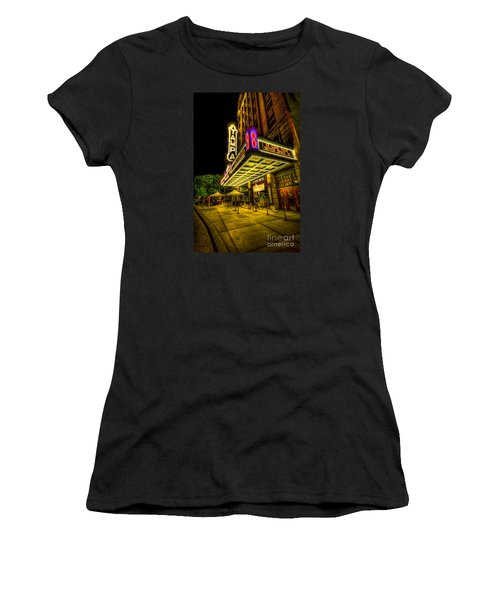 The Tampa Theater Women's T-Shirt (Junior Cut) by Marvin Spates