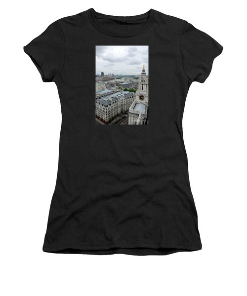 The Thames From St Paul's Women's T-Shirt (Athletic Fit)