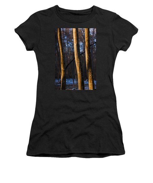 Women's T-Shirt (Junior Cut) featuring the photograph The Three Graces by Davorin Mance