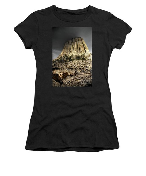 The Tower Of Boulders Women's T-Shirt