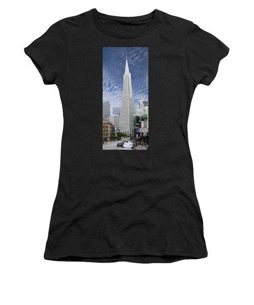 The Transamerica Pyramid - San Francisco Women's T-Shirt