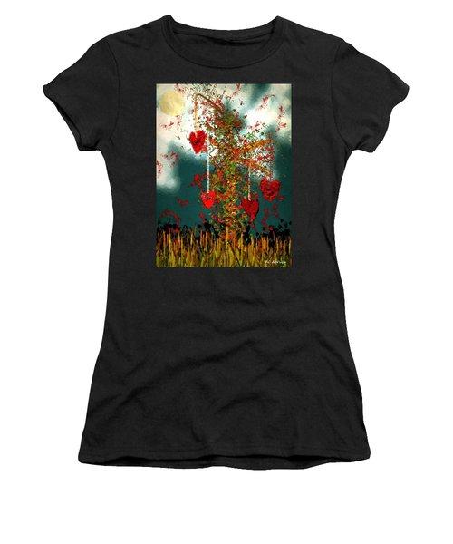 The Tree Of Hearts Women's T-Shirt