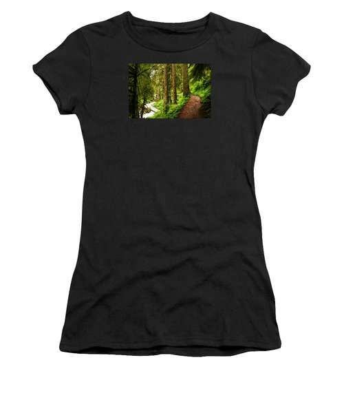 The Twisting Path Winding Through Paradise  Women's T-Shirt (Athletic Fit)