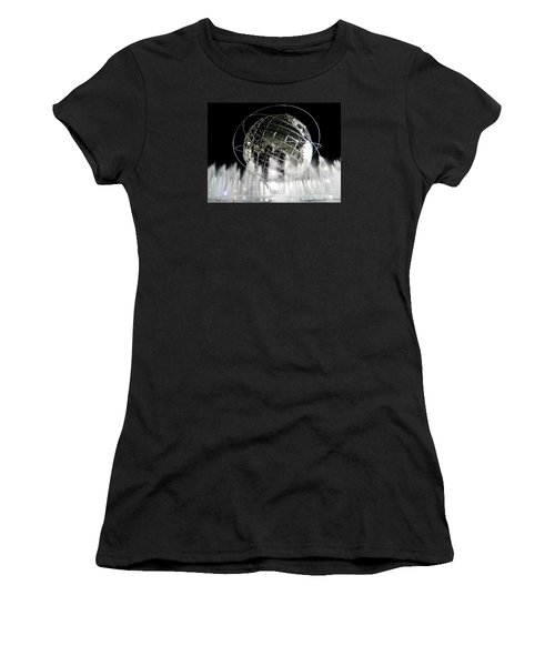 The Unisphere's 50th Anniversary Women's T-Shirt (Junior Cut) by Ed Weidman
