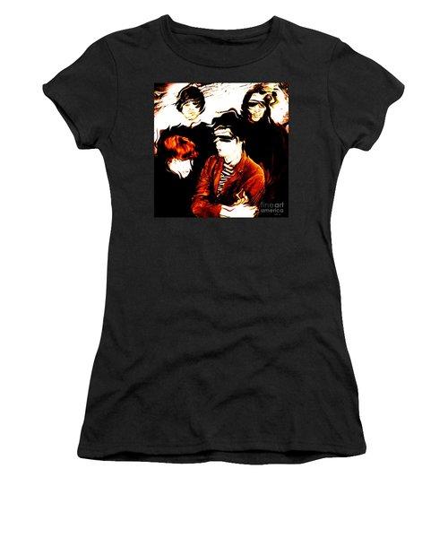The Velvet Underground  Women's T-Shirt (Junior Cut) by Elizabeth McTaggart