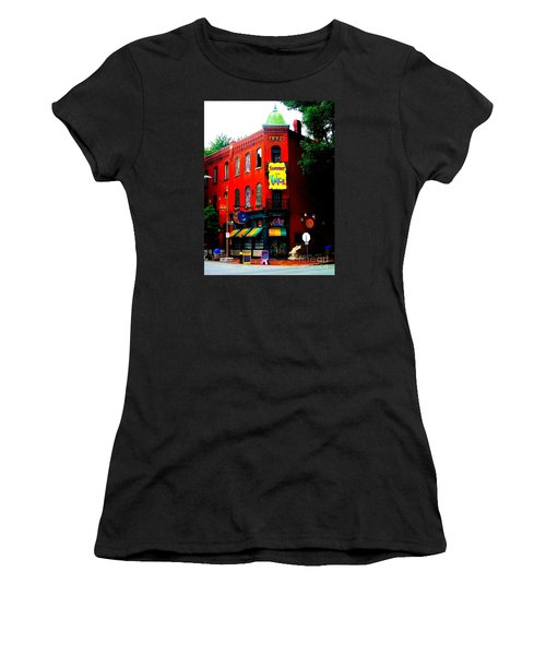 The Venice Cafe' Edited Women's T-Shirt (Junior Cut) by Kelly Awad