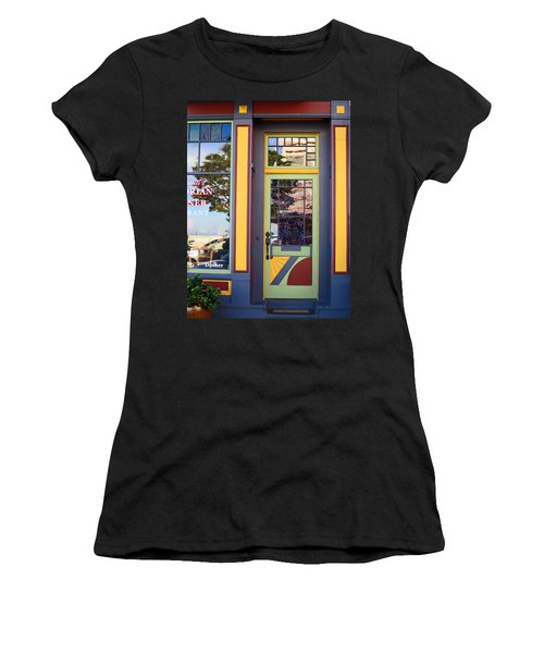 Women's T-Shirt featuring the photograph The Victorian Diner by Rick Locke