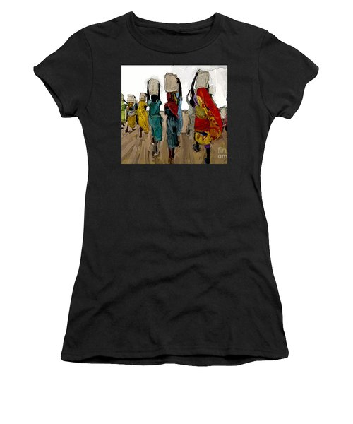 The Water Workers Women's T-Shirt (Athletic Fit)