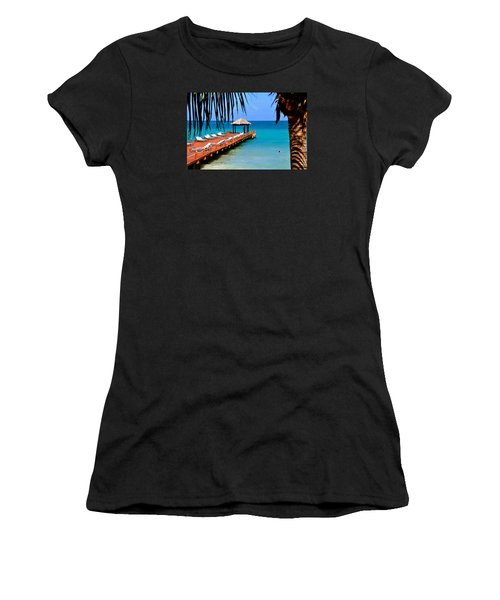 The Wedding Embrace Women's T-Shirt (Junior Cut) by Kicking Bear  Productions