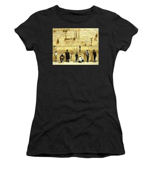 The Western Wall  Jerusalem Women's T-Shirt