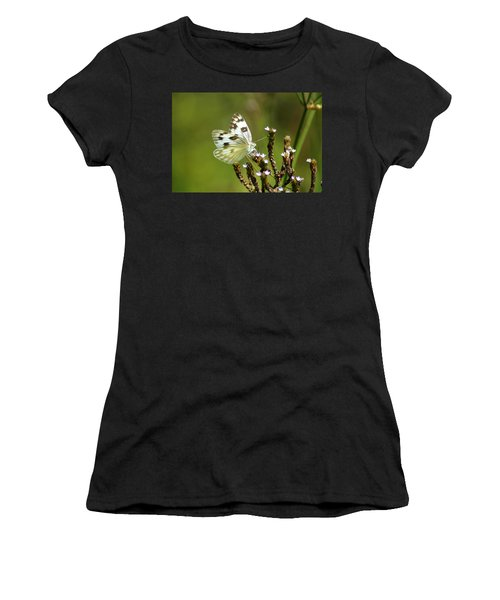 The Western White Women's T-Shirt (Athletic Fit)