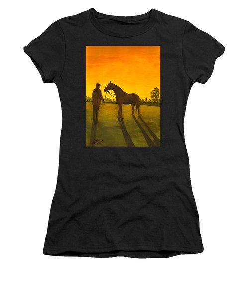 The Whisperer Women's T-Shirt (Athletic Fit)
