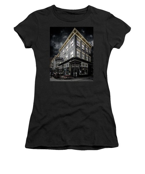 The White Horse Tavern Women's T-Shirt (Athletic Fit)
