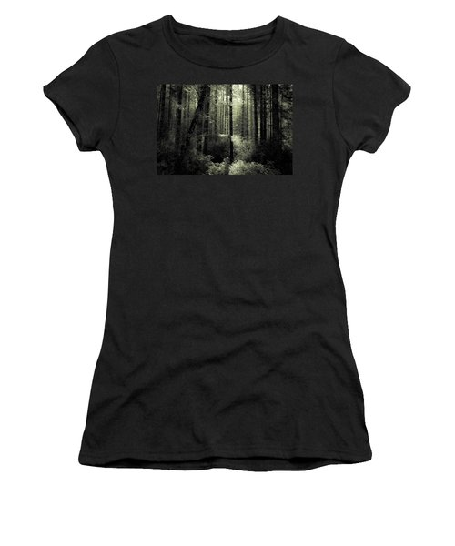 The Woods Women's T-Shirt (Junior Cut) by Katie Wing Vigil
